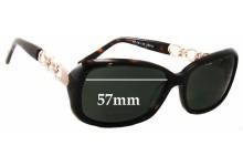 Bill Bass Ursula 29050 Replacement Sunglass Lenses - 57mm wide