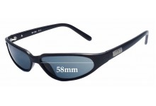 Black Flys Micro Fly Replacement Sunglass Lenses - 58mm wide