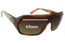 Sunglass Fix New Replacement Lenses for Blinde The Facilitator Model - 63mm Wide