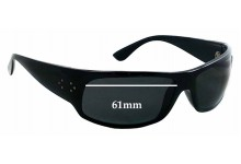 Blinde Fellini Replacement Sunglass Lenses - 61mm wide