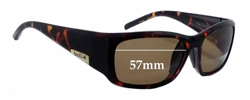 22b37b469e3 Bolle Origin Replacement Sunglass Lenses - 57mm wide
