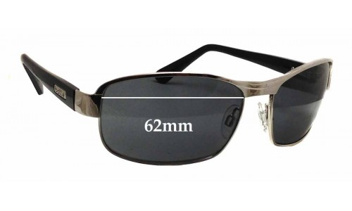 Bolle Unknown Replacement Sunglass Lenses - 62mm wide x 40mm tall