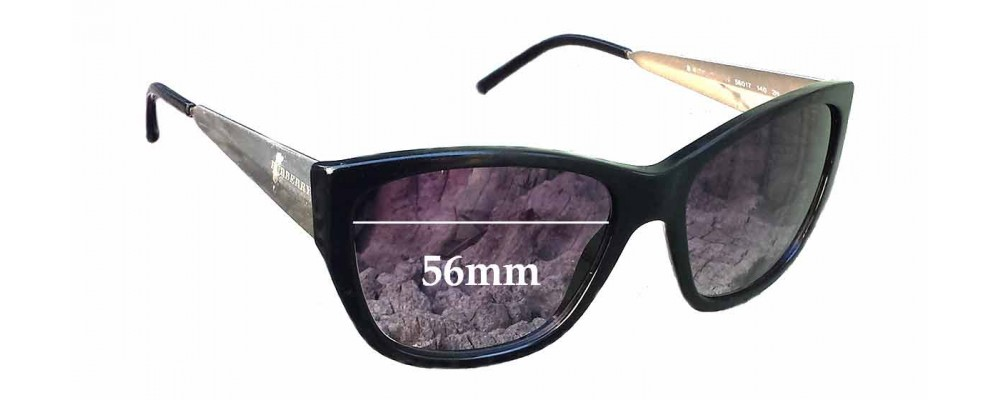 Burberry BE4174 Replacement Sunglass Lenses - 56mm wide