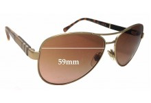Burberry B 3080 Replacement Sunglass Lenses - 59mm Wide