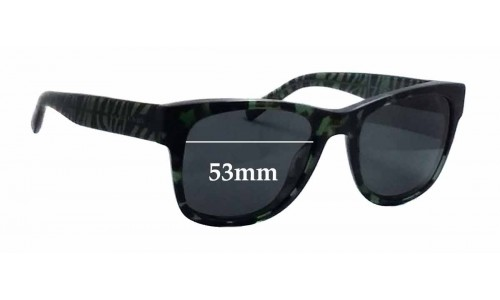 Burberry B 4149 Replacement Sunglass Lenses - 53mm wide