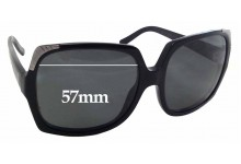 Sunglass Fix New Replacement Lenses for Burberry B 4084 - 57mm Wide