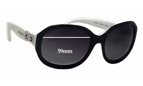Bvlgari 8064 Replacement Sunglass Lenses - 59mm wide