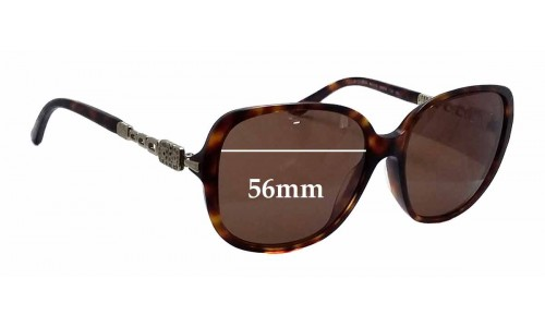 Bvlgari 8112-B-A Replacement Sunglass Lenses - 56mm wide