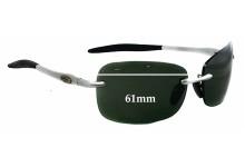 Callaway Golf Eyewear H303 SL Replacement Sunglass Lenses - 61mm wide