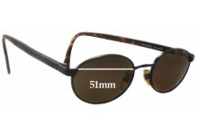 Sunglass Fix New Replacement Lenses for Calvin Klein CK235S - 51mm Wide