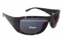 Calvin Klein CK3078S Replacement Sunglass Lenses - 63mm wide - 38mm tall