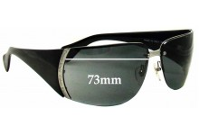 Sunglass Fix New Replacement Lenses for Calvin Klein CK448S - 73mm Wide *Must Be Installed By The Sunglass Fix*