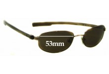 Sunglass Fix New Replacement Lenses for Calvin Klein CK1038S - 53mm Wide
