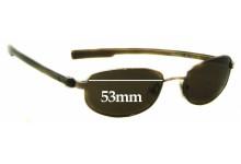 Calvin Klein CK1038S Replacement Sunglass Lenses - 53mm wide