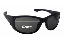 The Cancer Council Australia Silverton Replacement Sunglass Lenses - 62mm wide x 41mm tall