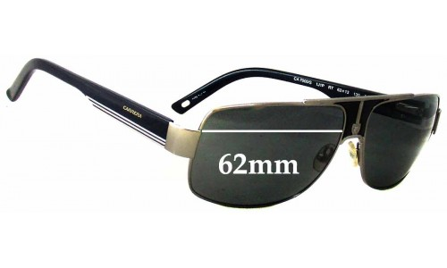 Carrera 7000/S Replacement Sunglass Lenses - 62mm wide