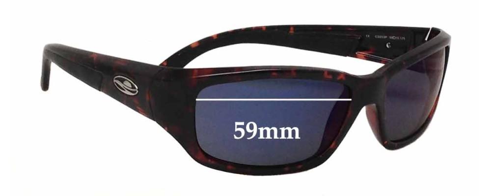 fd383cd1b19 Caribbean Sun CS053P Replacement Sunglass Lenses - 59mm wide
