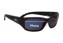 Caribbean Sun CS053P Replacement Sunglass Lenses - 59mm wide
