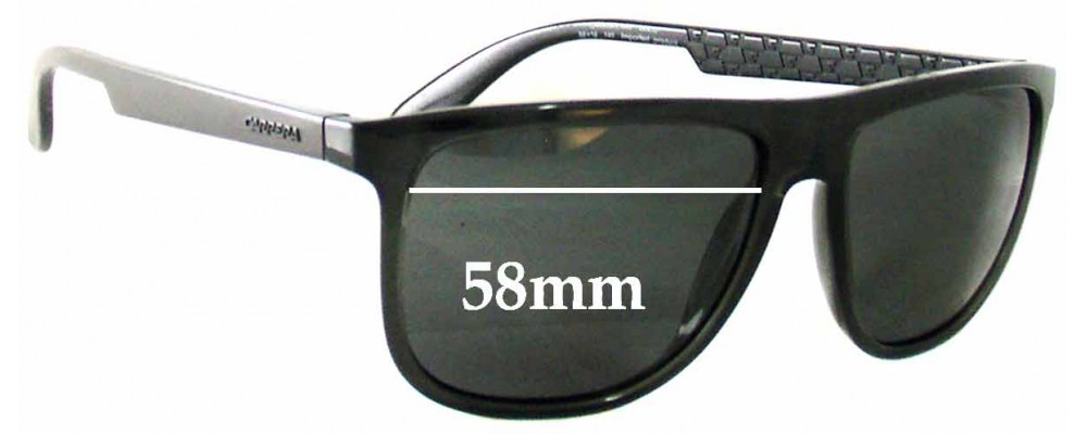 ca7acb7a5248 Carrera 5003 Replacement Lenses 58mm by The Sunglass Fix™