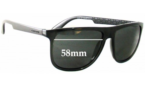 Carrera 5003 Replacement Sunglass Lenses - 58mm Wide