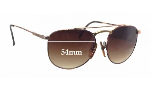 Carrera 5112 Replacement Sunglass Lenses - 54mm wide