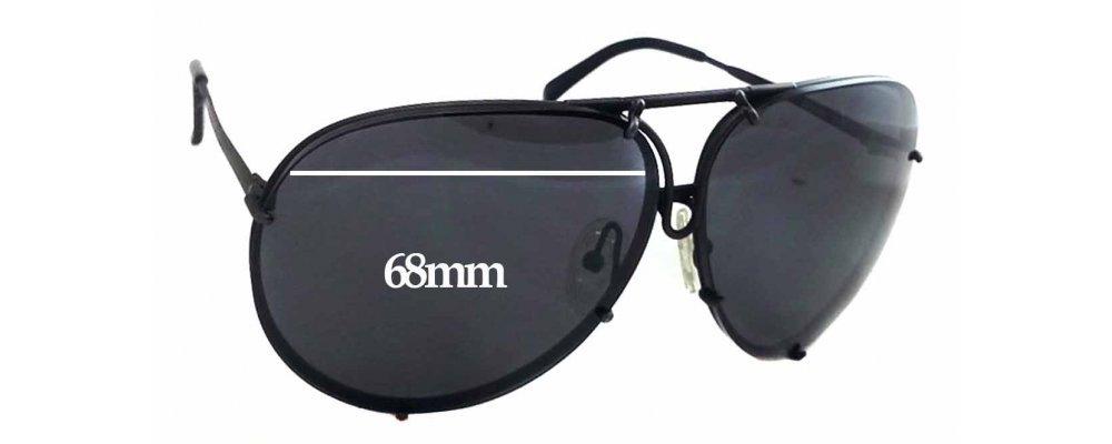bda45e284a58 Sunglass Fix Replacement Lenses for Carrera 5623 - 68mm wide