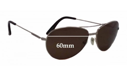 Carrera 69S Replacement Sunglass Lenses - 60mm wide