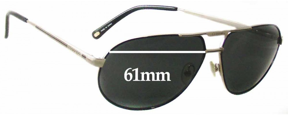 8ad08a2734b9 Carrera By Safilo Master 2 Replacement Lenses 61mm by The Sunglass Fix™