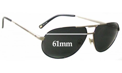 Carrera By Safilo Master 2 Replacement Sunglass Lenses - 61mm Wide