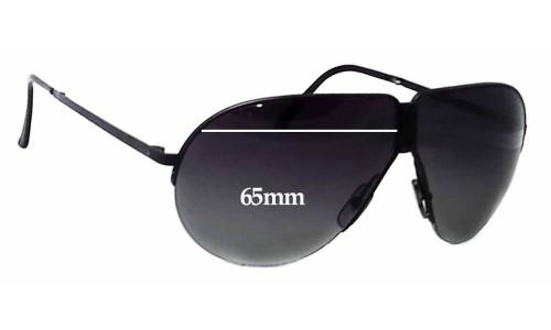 Sunglass Fix Replacement Lenses for Carrera Porsche Design 5628 - 65mm wide