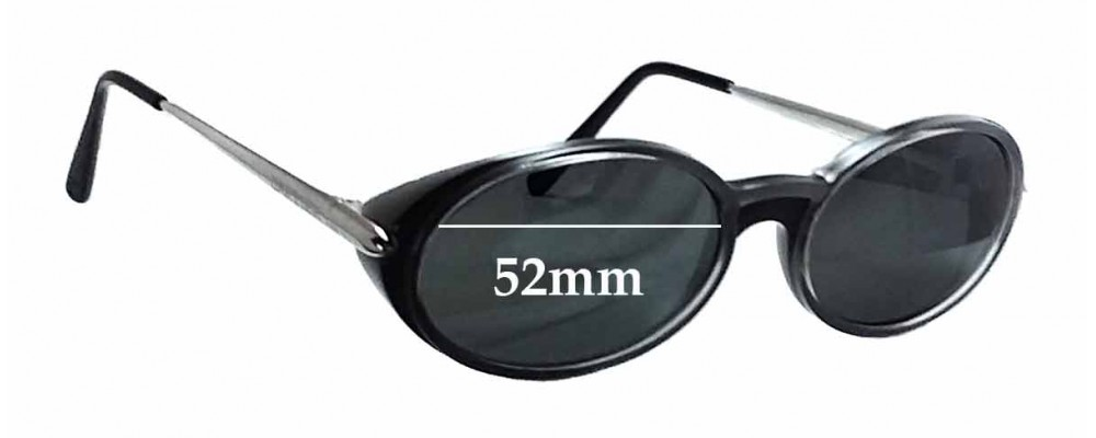 Cartier 2877163 Replacement Sunglass Lenses - 52mm wide