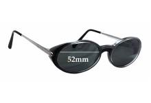 Cartier 2877163 Replacement Sunglass Lenses - 52mm wide