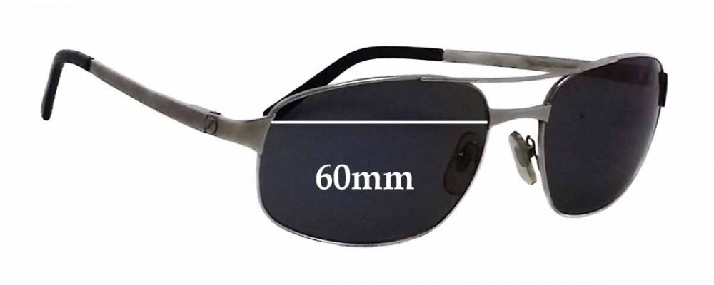 e147698a60 Cartier 3890808 Replacement Sunglass Lenses - 60mm wide