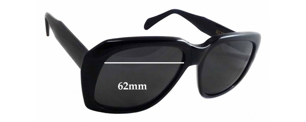 2c761cc847a1 Caviar Ultra Goliath 2 Replacement Sunglass Lenses - 62mm wide - 54mm tall