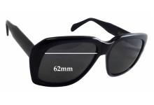 Caviar Ultra Goliath 2 Replacement Sunglass Lenses - 62mm wide - 54mm tall