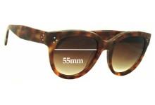 Celine CL 41755 Replacement Sunglass Lenses - 55mm Wide