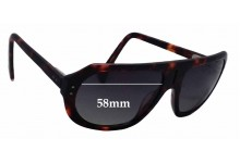 Chachi TSL 1550N Replacement Sunglass Lenses - 58mm wide