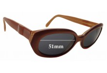 Chagall LL45162 Replacement Sunglass Lenses - 51mm wide