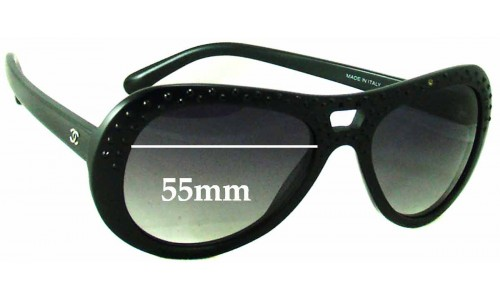 Chanel 40921 Replacement Sunglass Lenses - 55mm wide