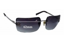Chanel 4092-B Replacement Sunglass Lenses - 62mm wide