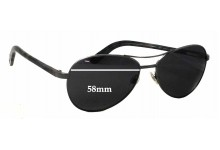 Chanel 4201 Replacement Sunglass Lenses - 58mm wide