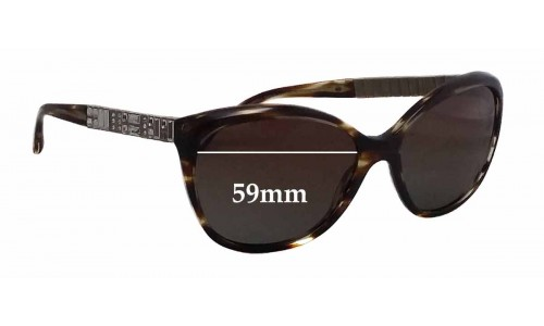 Sunglass Fix Replacement Lenses for Chanel 5309-B - 59mm wide
