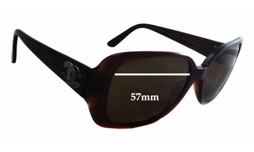 Chanel 5101 New Sunglass Lenses - 57mm wide - 47mm tall