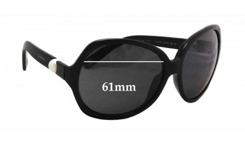 Sunglass Fix Replacement Lenses for Chanel 5141-H - 61mm wide