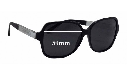 Chanel 5168 Replacement Sunglass Lenses - 59mm wide