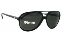 Chanel 5206 Replacement Sunglass Lenses 59mm wide