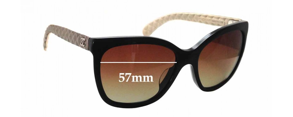 2d577b5d9 Chanel 5288-Q Replacement Lenses 57mm by The Sunglass Fix™