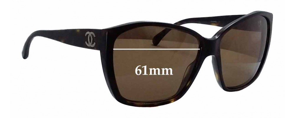 1961ef978f3 Chanel CH5203 Replacement Lenses - 61mm wide