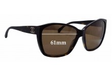 Chanel CH5203 Replacement Sunglass Lenses - 61mm wide