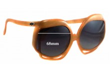 Christian Dior 2026 Replacement Sunglass Lenses - 68mm wide